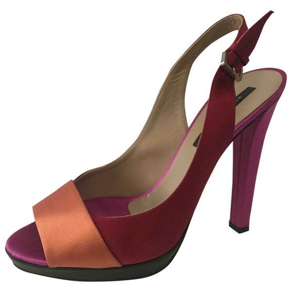 Pre-owned Diego Dolcini Cloth Heels