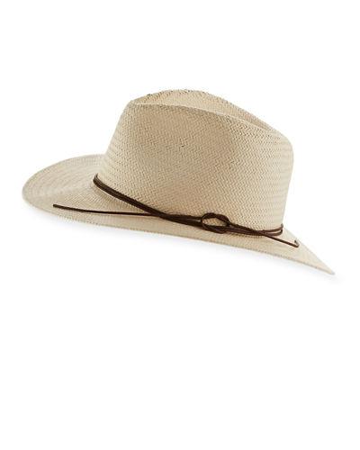 5f3235353a484 Rag   Bone Packable Straw Fedora Hat