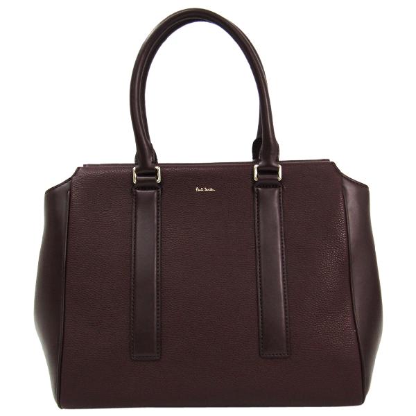 Paul Smith Burgundy Leather Handbag