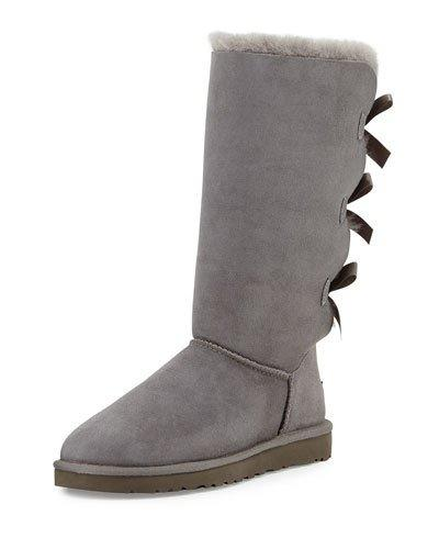 Ugg Bailey Tall Bow-back Boot In Chestnut