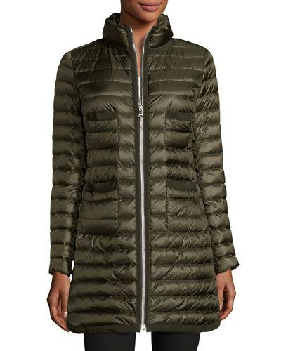 Moncler Bogue Puffer Jacket In Green