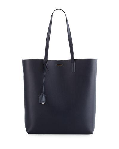 Saint Laurent Medium North-south Shopping Tote Bag, Blue