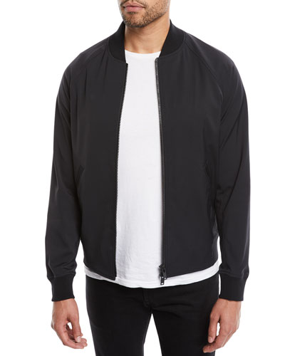 Theory Neoteric Bomber Jacket In Victory Blue