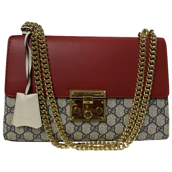 Gucci Padlock Multicolour Cloth Handbag