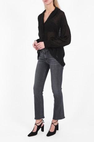 Frame Le Bootleg Raw Edge Jeans