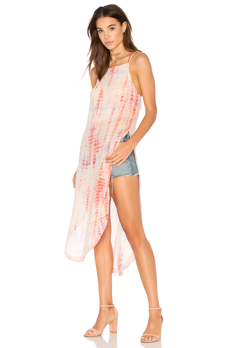 Free People Remember When Maxi Top In White