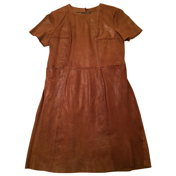 Swildens Camel Leather Dress