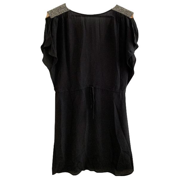 Swildens Black Silk Dress
