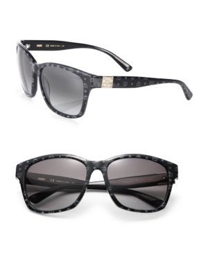 Mcm Visettos 59mm Square Logo Sunglasses In Na