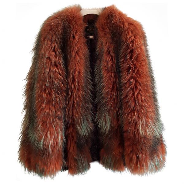 Pre-owned Hockley Multicolour Fur Jacket