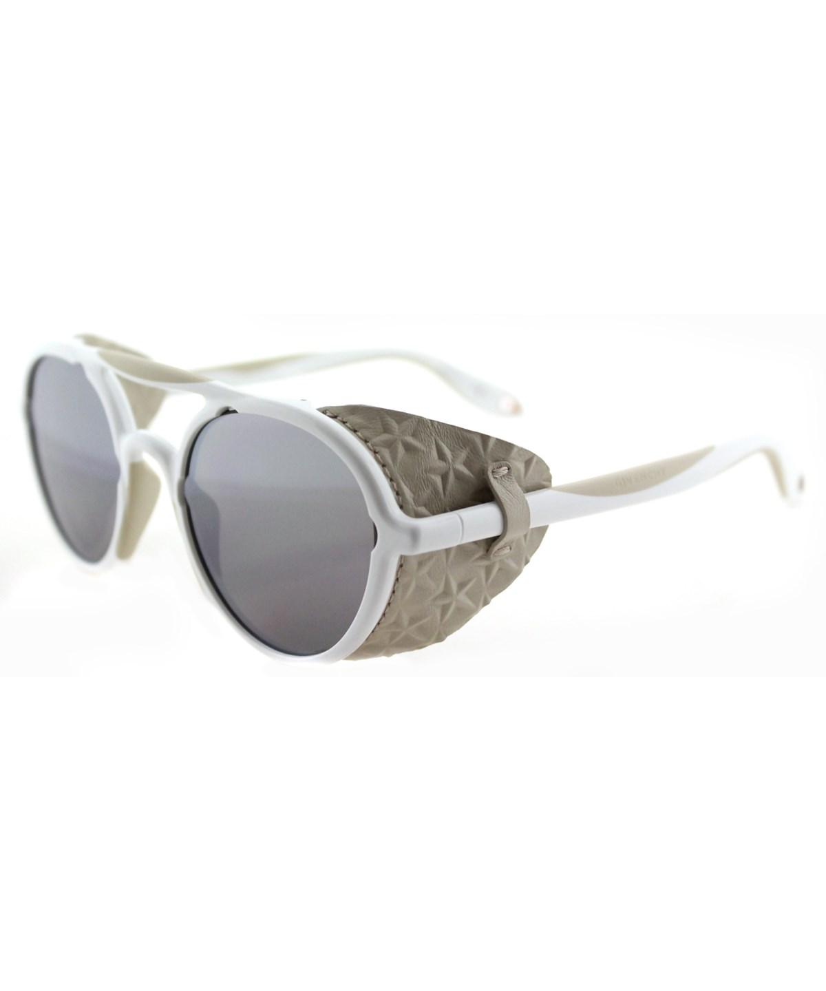 Givenchy Round Plastic Sunglasses' In Beige