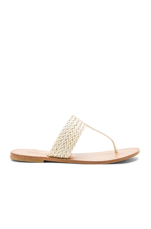 Joie Haile Sandal In Ivory
