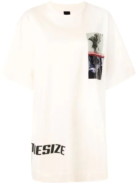 Juun.j Synthesize Oversized T In Yellow