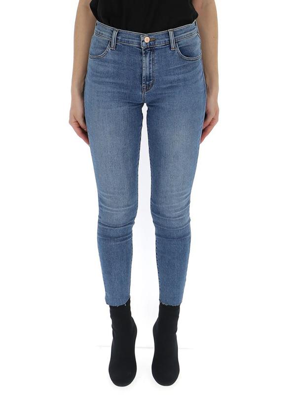J Brand Classic Skinny Jeans In Blue