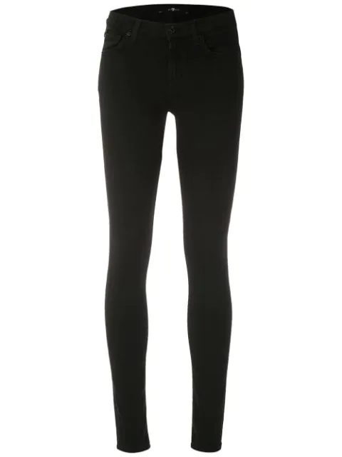 7 For All Mankind The Skinny In Black