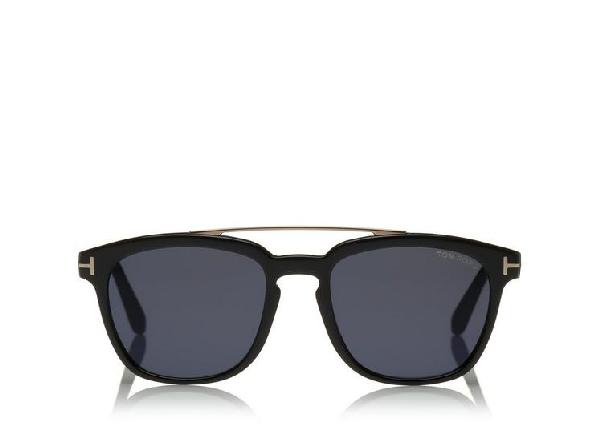 58dfdb8748526 Tom Ford Men. TOM FORD. Men s Holt Brow Bar Square Sunglasses