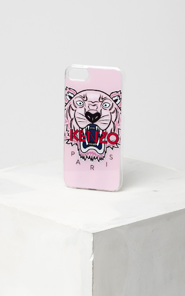 Kenzo 3D Tiger Iphone 7/8 Case In Pink