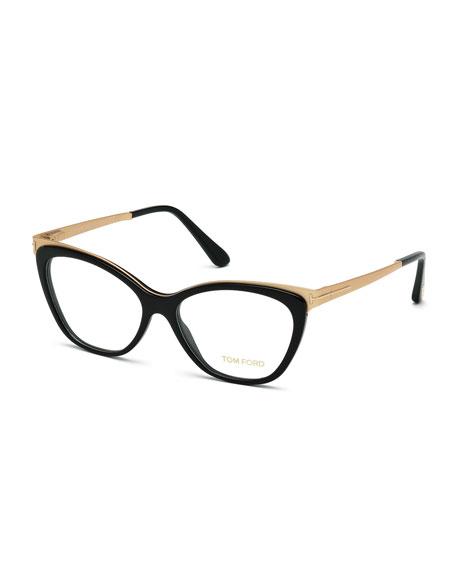 6e918820ae6b Tom Ford Cat-Eye Optical Frames