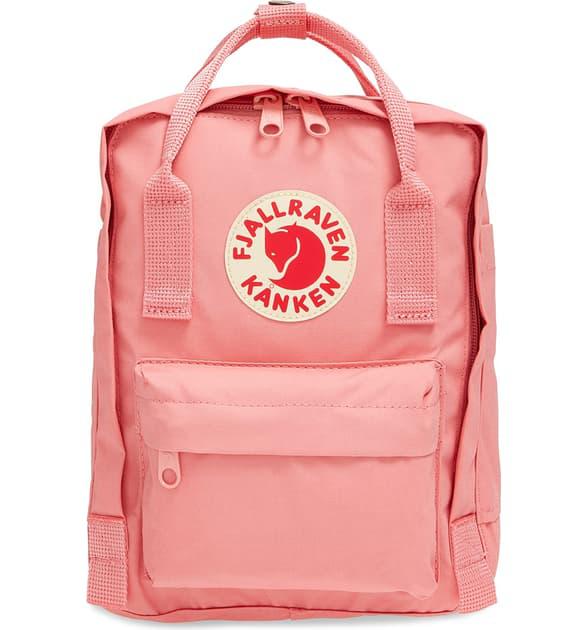 Fjall Raven 'mini Kanken' Water Resistant Backpack In Pink