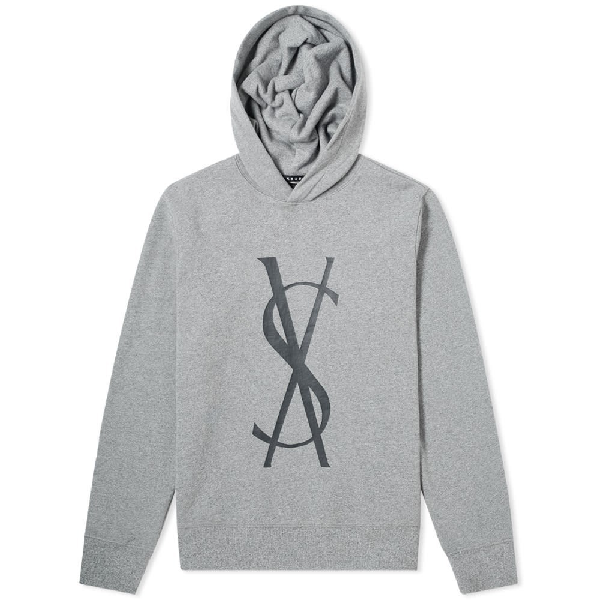 Ksubi Sign Of The Times Fancy Dollar Hoodie In Grey