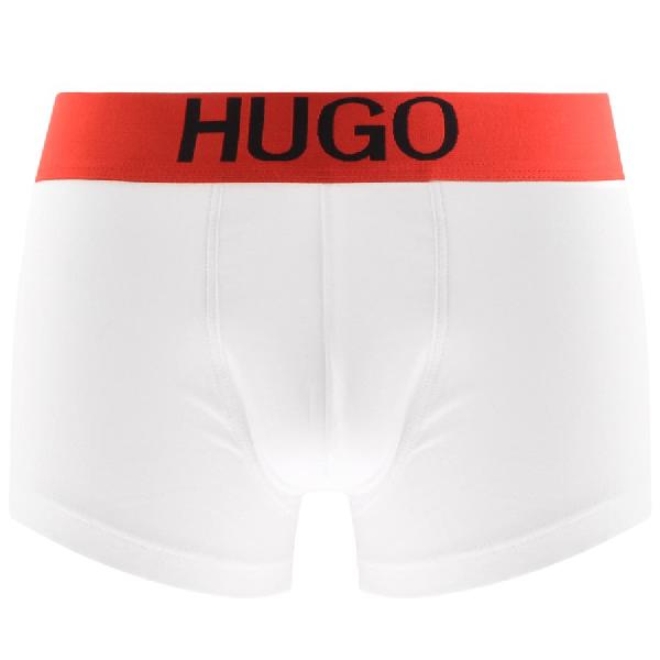 Hugo X Liam Payne Boxer Trunks White