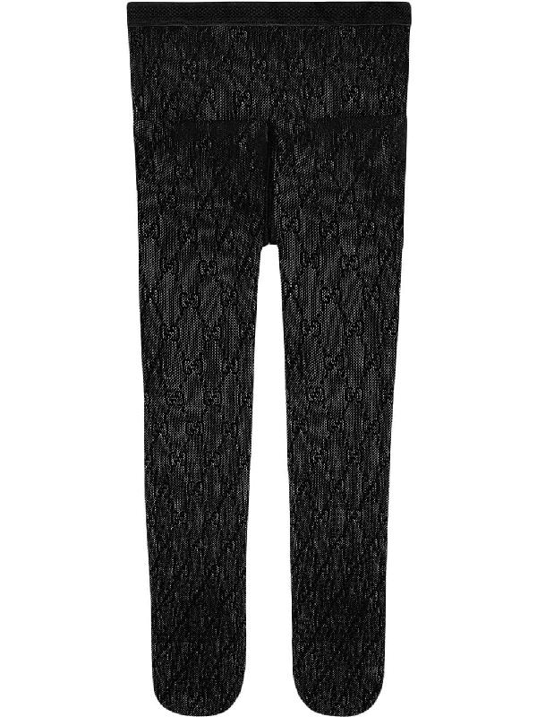 bf796f015e7c5 Gucci Black Gg Supreme Tights | ModeSens