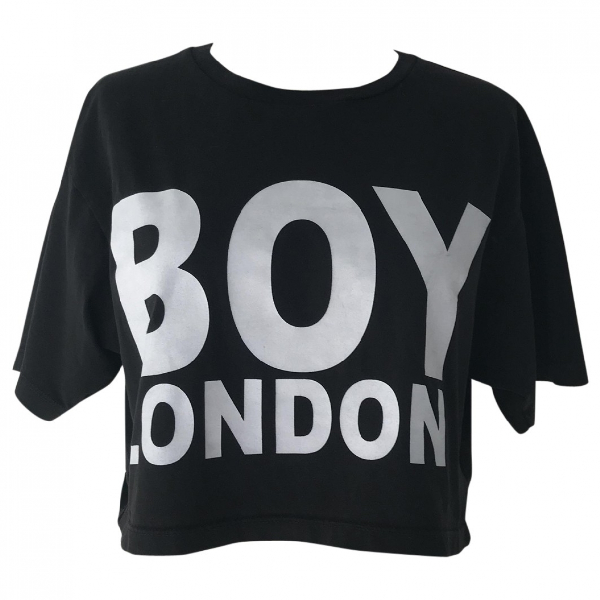 Boy London Black Cotton  Top
