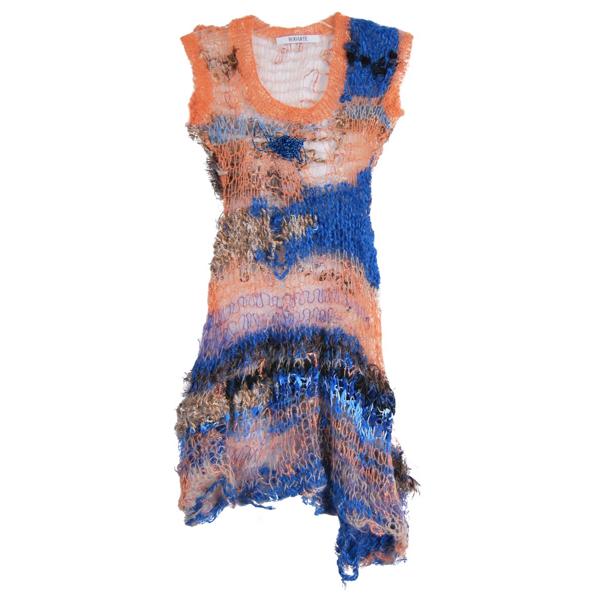Pre-owned Rodarte Multicolour Wool Dress