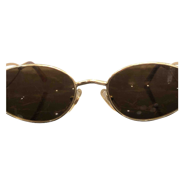 Roberto Capucci Gold Metal Sunglasses