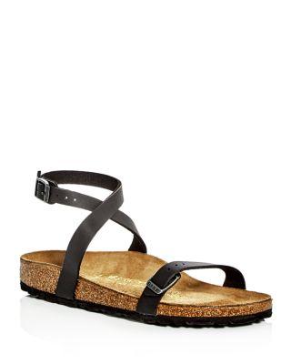 8d5097ddee7 Birkenstock Women s Daloa Ankle Strap Sandals In Black