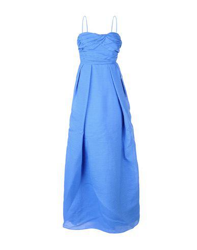 Carven Long Dress In Blue