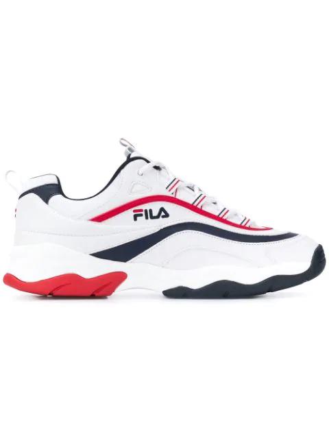 Fila Ray Low Sneakers In 01m
