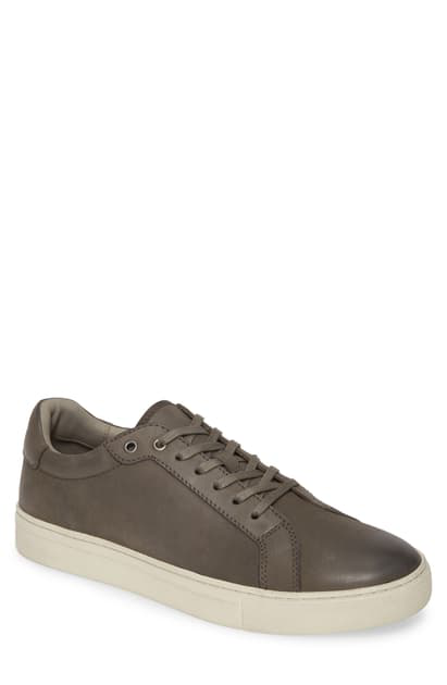 Allsaints Men's Stow Leather Low-top Sneakers In Black/ Black Leather