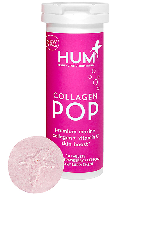Hum Nutrition Wild Strawberry + Lemon Collagen Pop In N,a