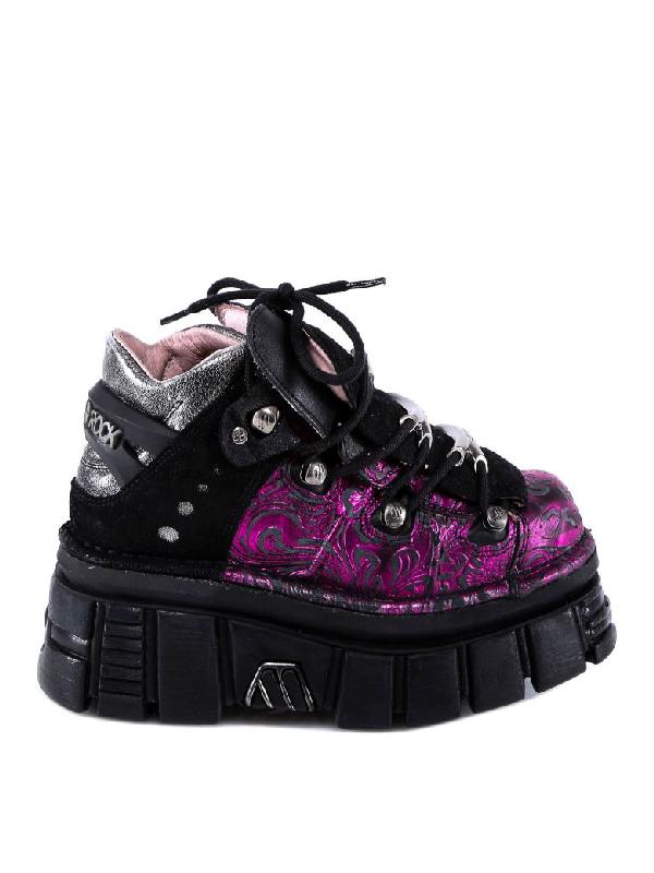 New Rock Sneakers In Purple