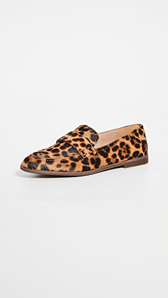 Madewell Alex Loafers In Truffle Multi