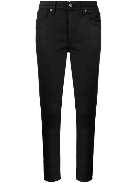 Levi's High Rise Skinny Jeans In Black