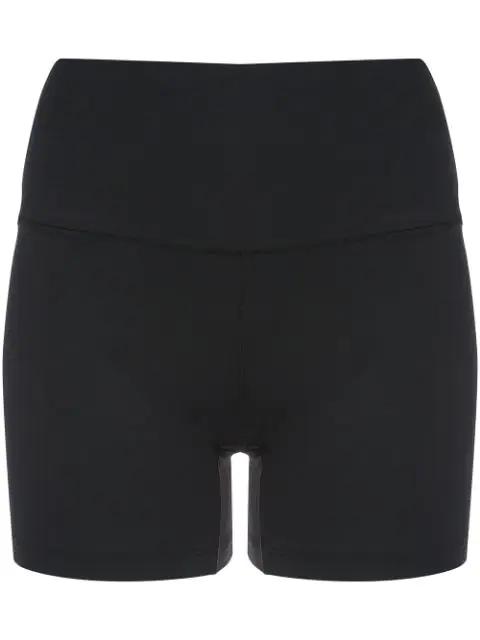 Eres Mani Sport Activewear Short Leggings In Black
