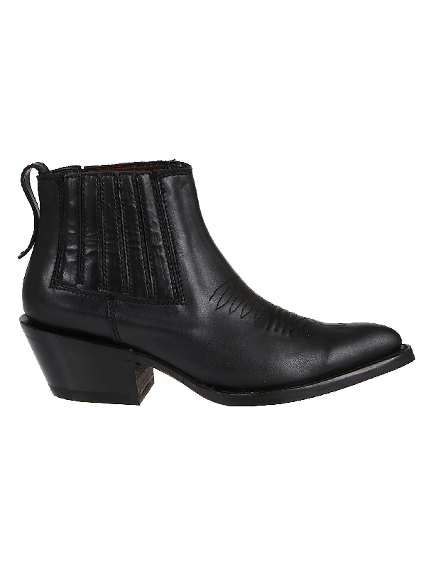 united kingdom outlet for sale quality design Black Leather Ankle Boots