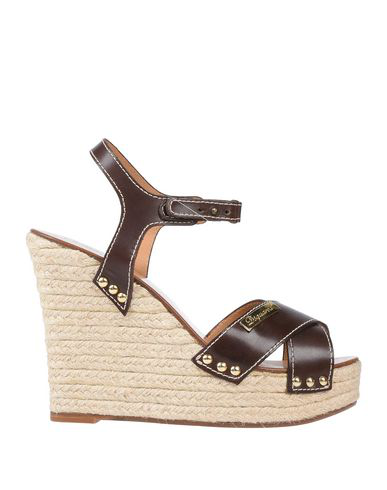 Dsquared2 Sandals In Dark Brown