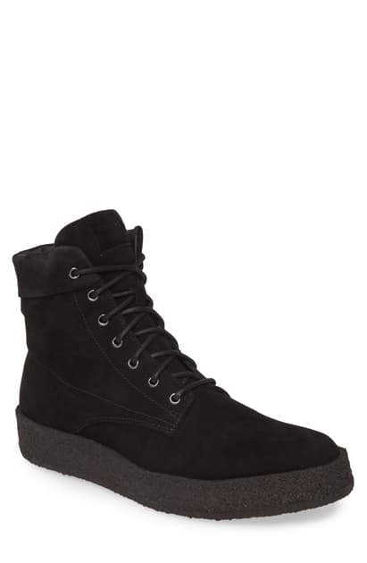 Allsaints Men's Kip Suede Boots In Black