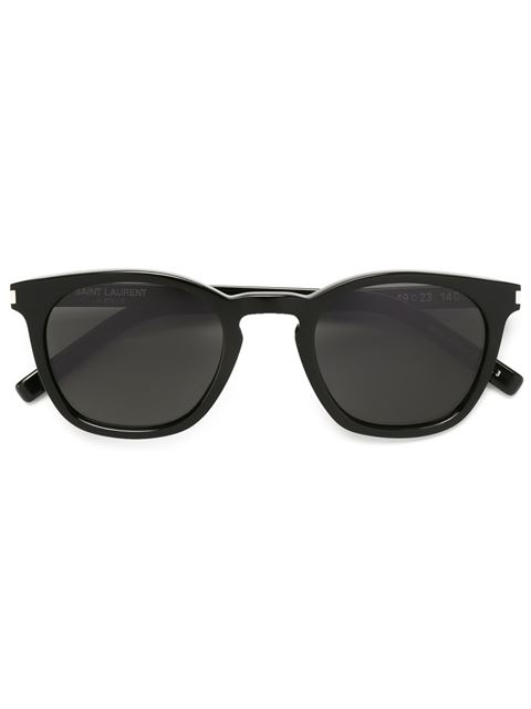 3fd1a424da8 Saint Laurent Classic 28 Combi Sunglasses In Black-Silver-Grey ...