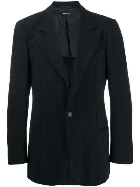 Pre-owned Giorgio Armani 1990s Tailored Dinner Jacket In Black