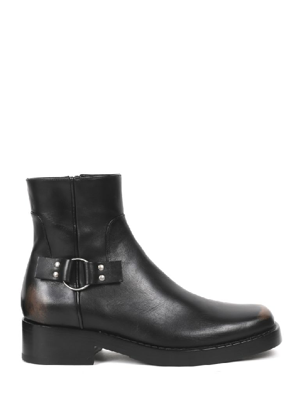 Raf Simons Black Boots