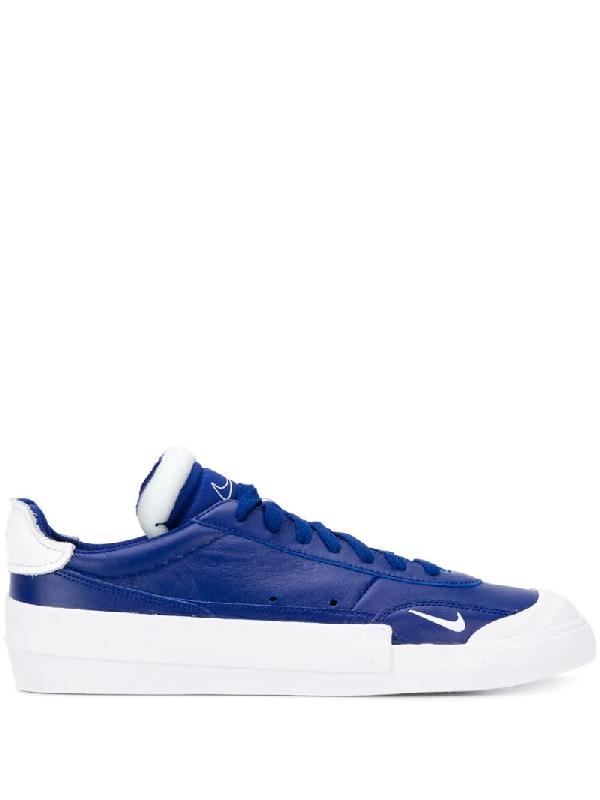 Nike Drop-Type Premium Sneaker In 400 Deep Royal Blue/White-Black