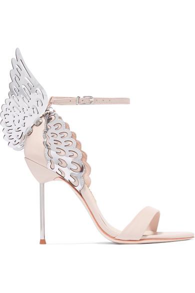 63ffabdec16 Sophia Webster 'Evangeline' Metallic Lasercut Angel Wing Leather ...