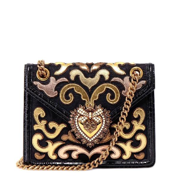 Dolce & Gabbana Devotion Shoulder Bag In Multi