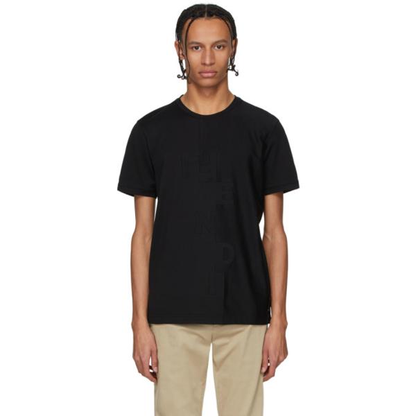 Fendi T-shirt In F0qa1 Black