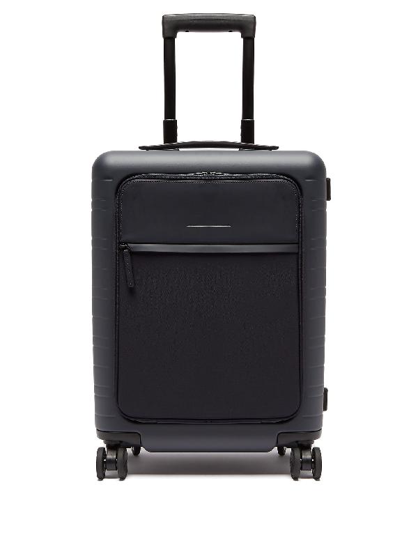 Horizn Studios M5 Smart Hardshell Cabin Suitcase In Dark Blue