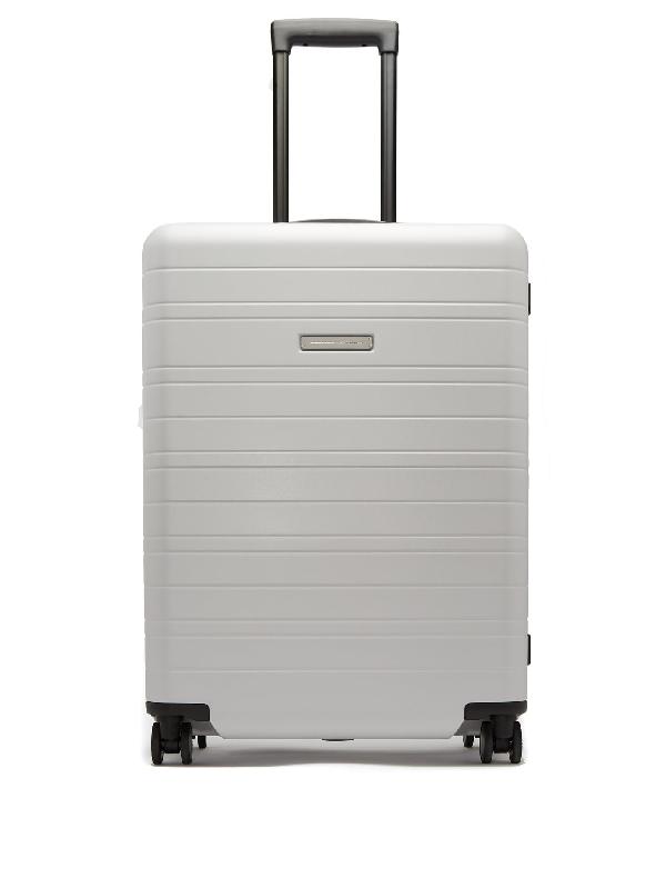 Horizn Studios H7 Hardshell Check-in Suitcase In Light Grey
